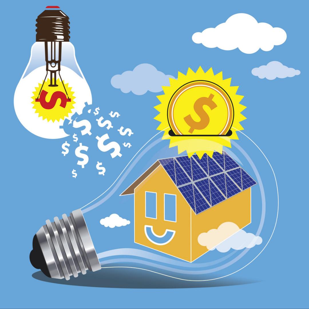 Solar save energy