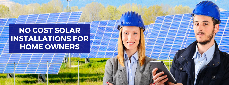 No Cost Solar Installation service